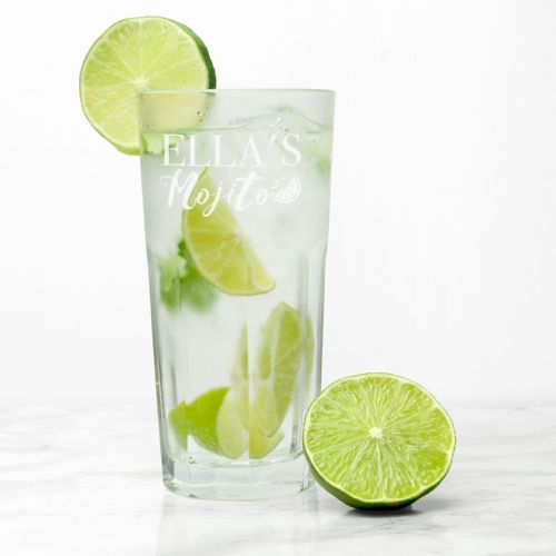 Personalised Mojito Glass tall
